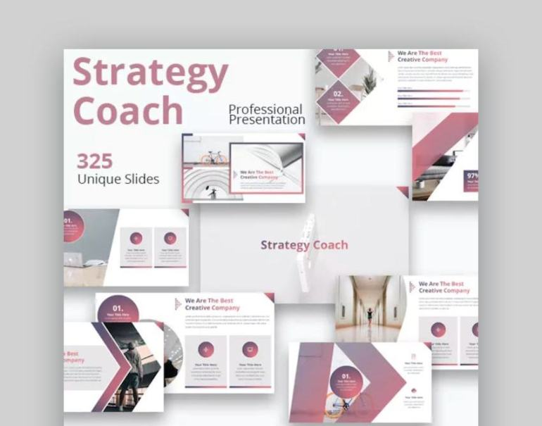 Strategy Coach Multi-purpose Google Slides Presentation Template