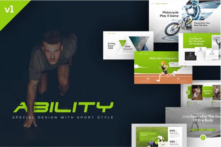 Ability Sports PowerPoint Presentation