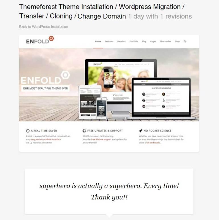 Themeforest Theme Installation  WordPress Migration  Transfer  Cloning  Change Domain by superhero