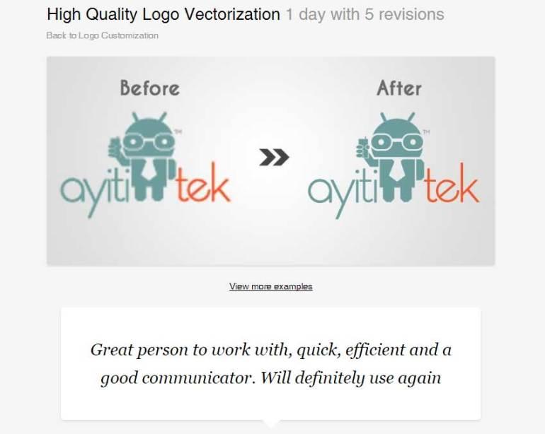 High Quality Logo Vectorization