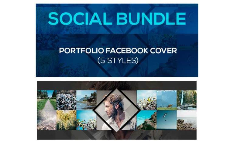 Portfolio Social Covers Bundle