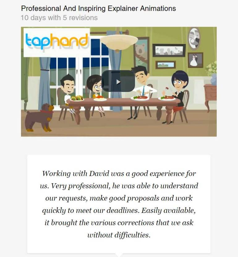 Professional And Inspiring Explainer Animations by 155326