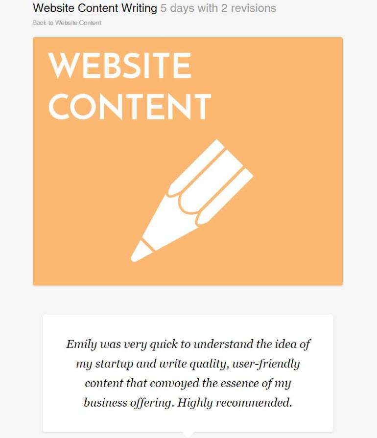 Website Content Writing by emilyshore