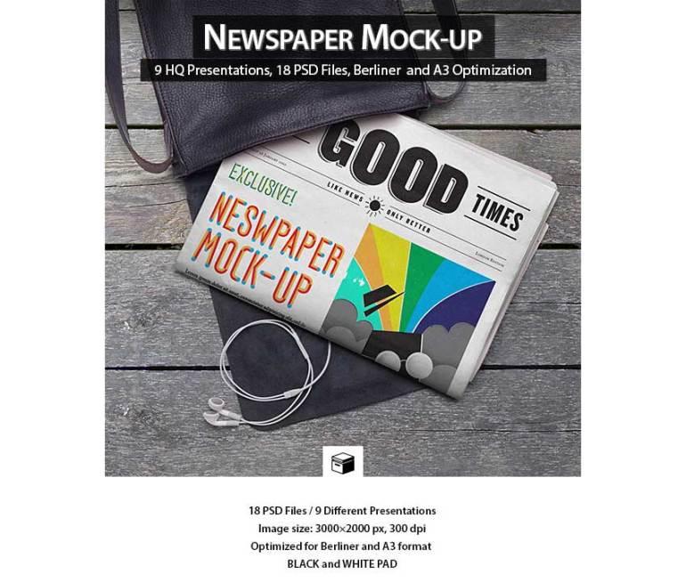 Newspaper Mock-Up