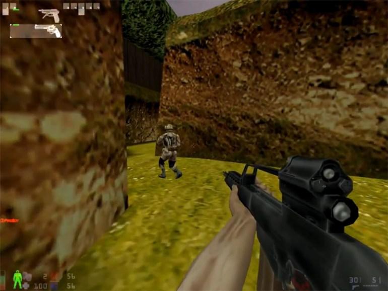 Firearms a Mod for Half Life 1
