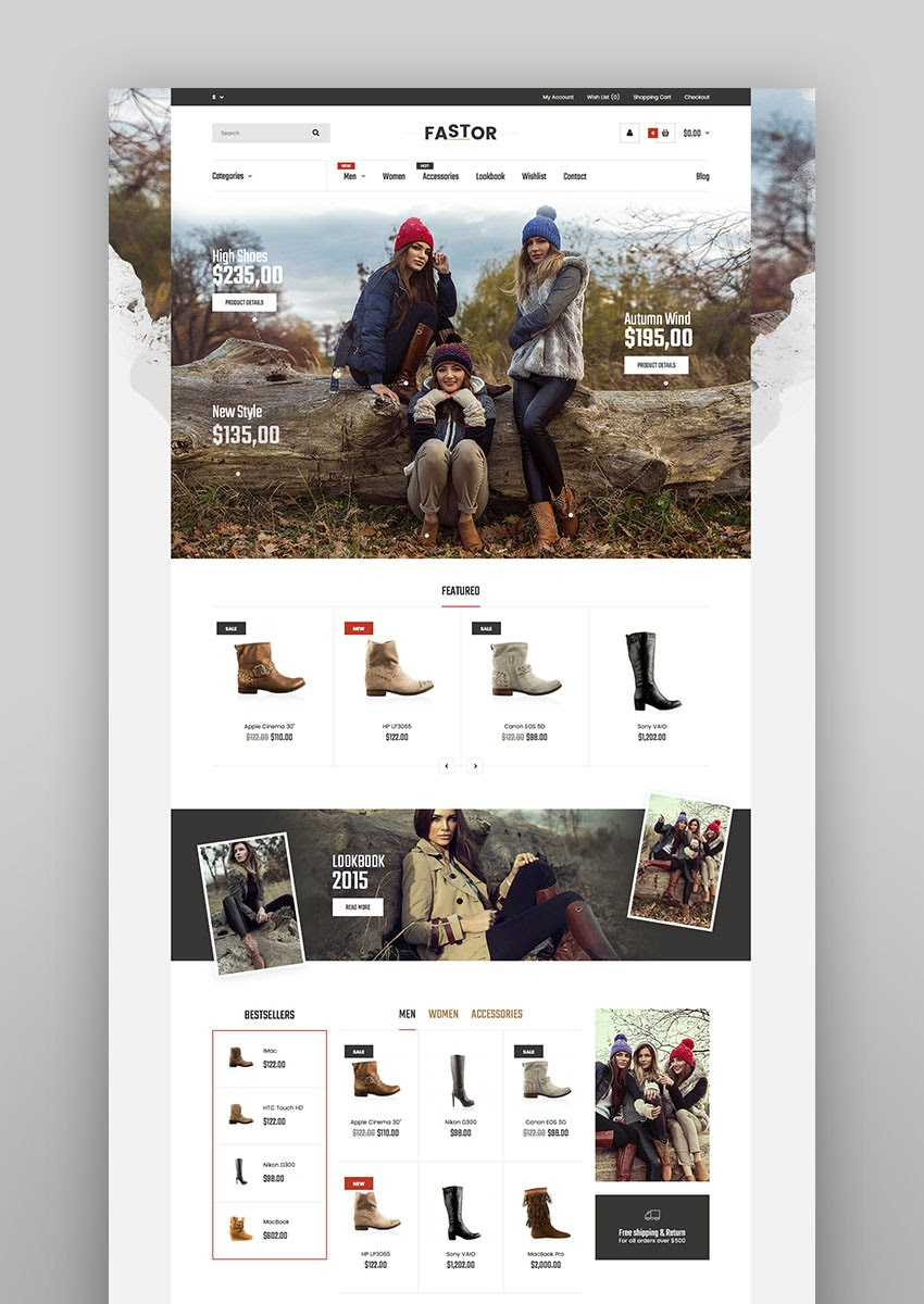 15+ Best eCommerce Website Templates: Updated for 2019