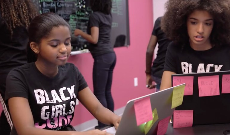 Screengrab via Black Girls CodeYouTube