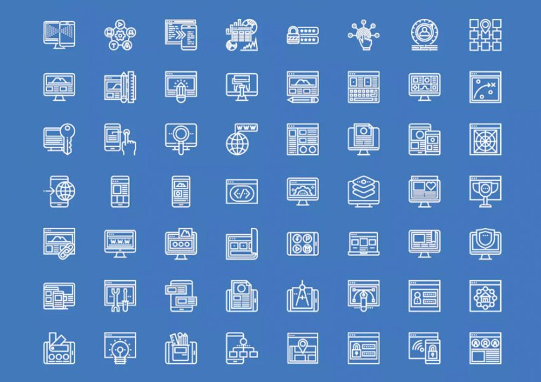 Development Line Icons