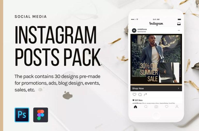 Instagram Posts Pack