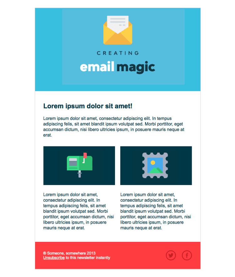Xây dựng một Template Email bằng HTML từ đầu