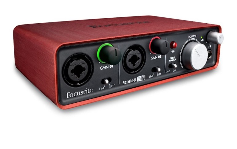 A typical audio interface