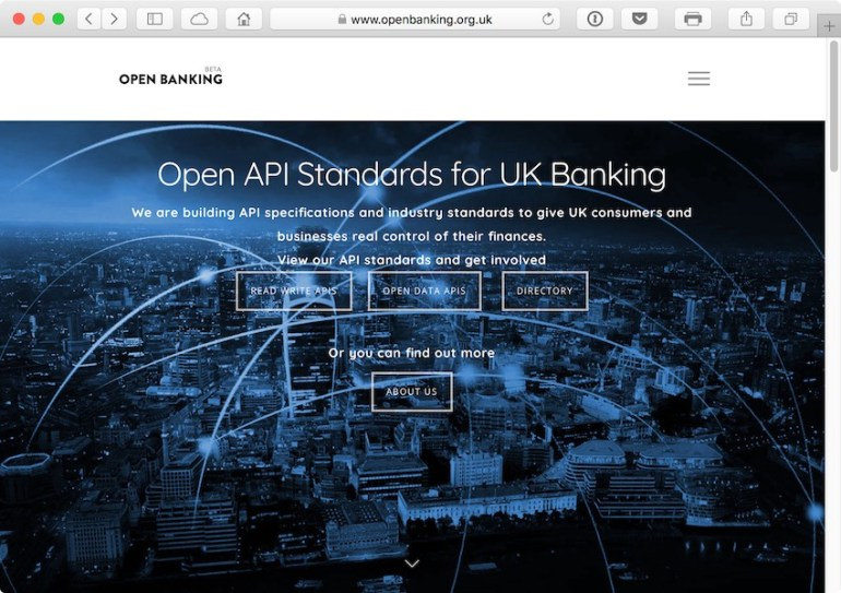 Open Banking is setting the API standards for the future of UK Banking