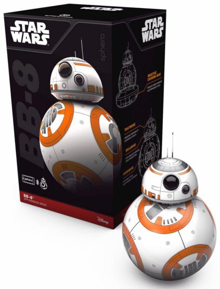 IBM Bluemix IoT Arm Gestures - Retail Box of Star Wars BB-8 Droid by Sphero