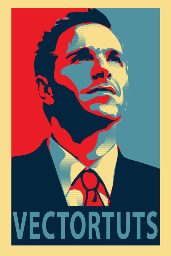 inspirational vector political poster