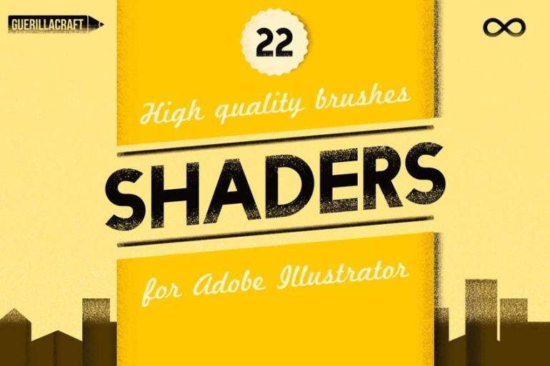 Shader Brushes For Adobe Illustrator