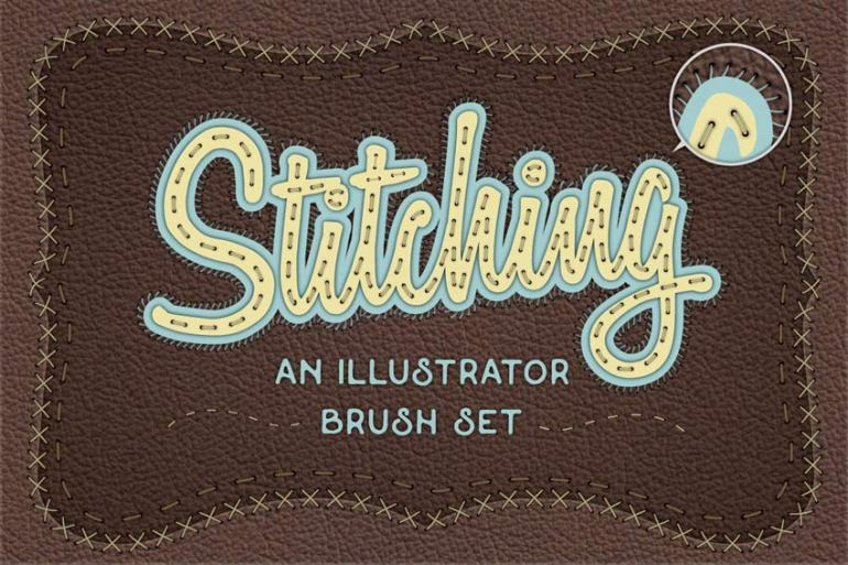 Illustrator Stitch Brushes