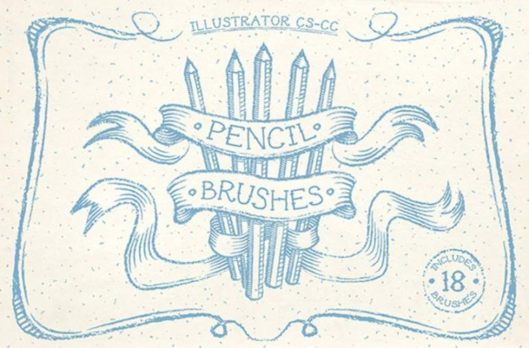 Pencil Illustrator Brushes