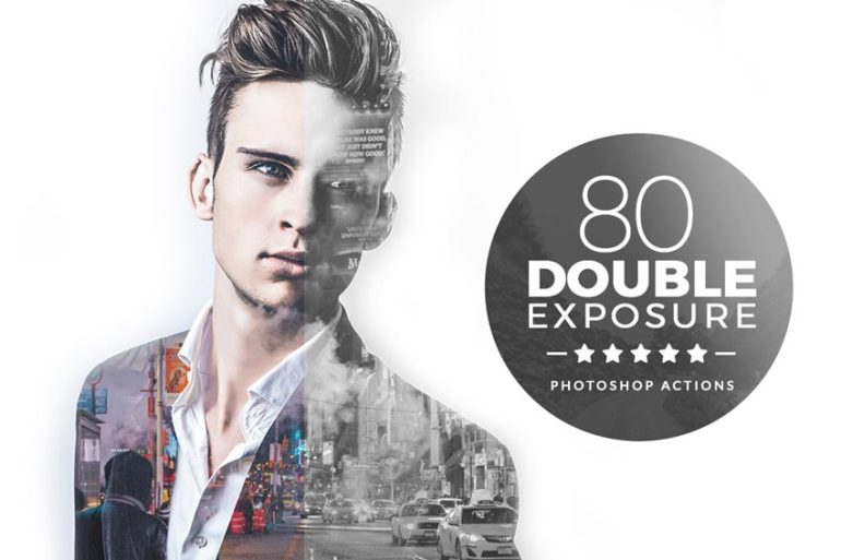 Double Exposure Photoshop Actions