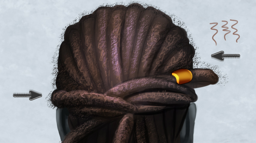 How To Paint Realistic Hair In Adobe Photoshop Braids And