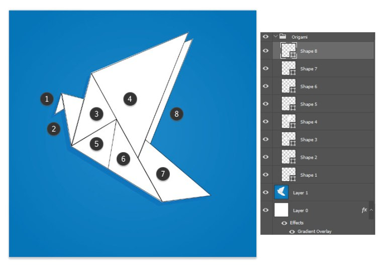 Section Your Origami into Different Shapes