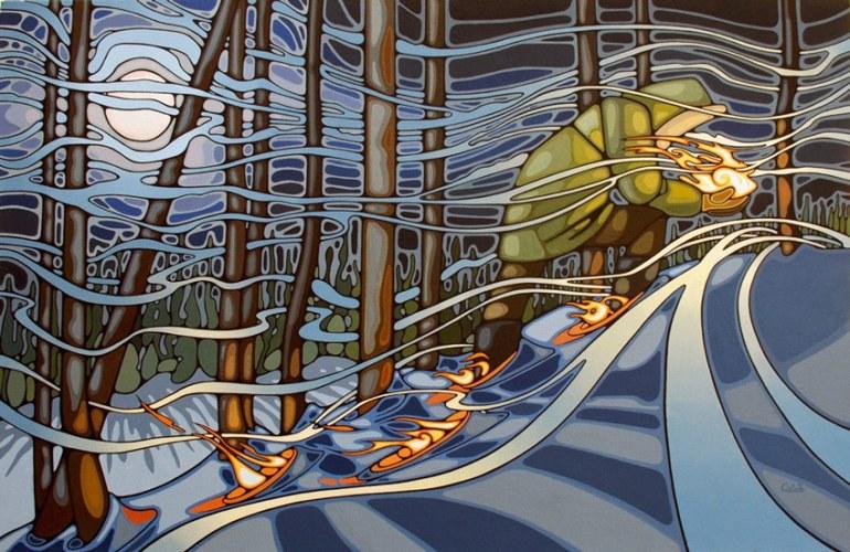 The Messenger Art by Caleb Hamm
