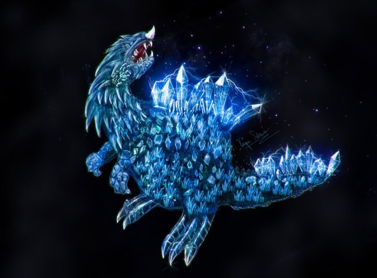 Crystal Animal Painting by Panico747
