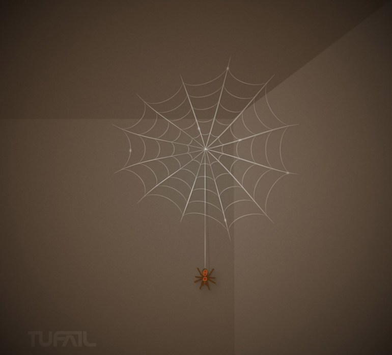 Adobe Illustrator Spider Web by Mohammed Sabeel