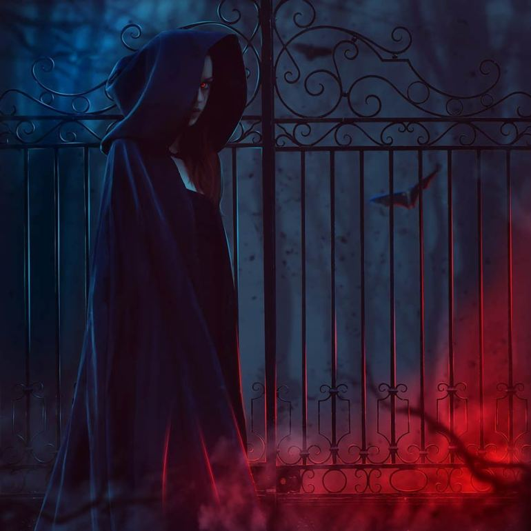 Dark Lady Photo Manipulation by Vanessa Padua