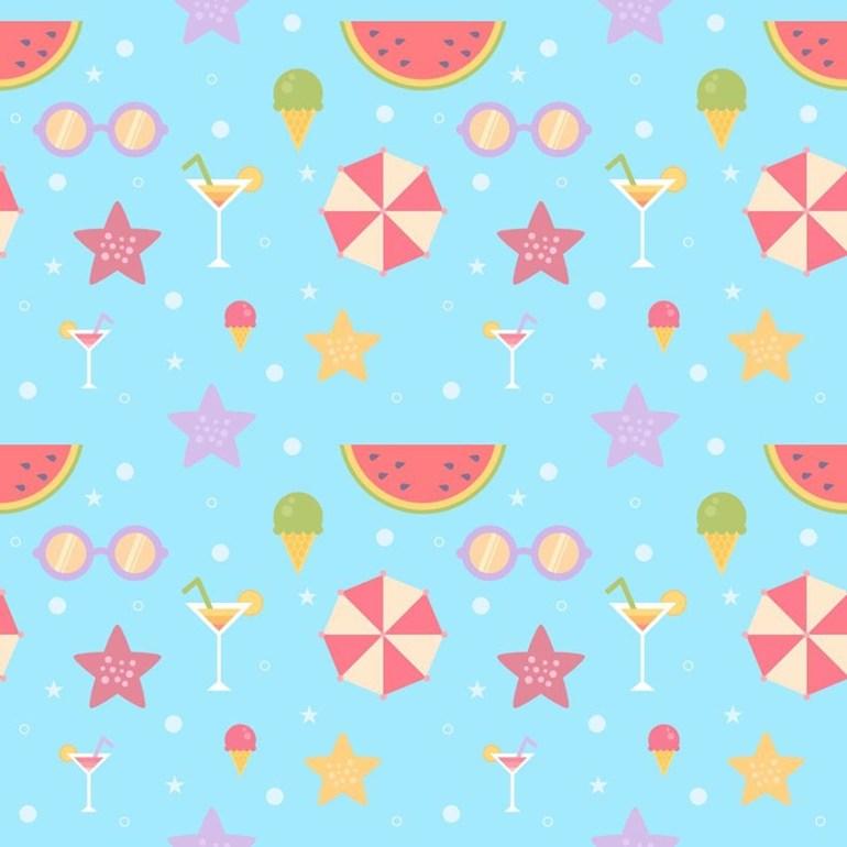 Summer Pattern in Affinity Designer by Lenart Livia