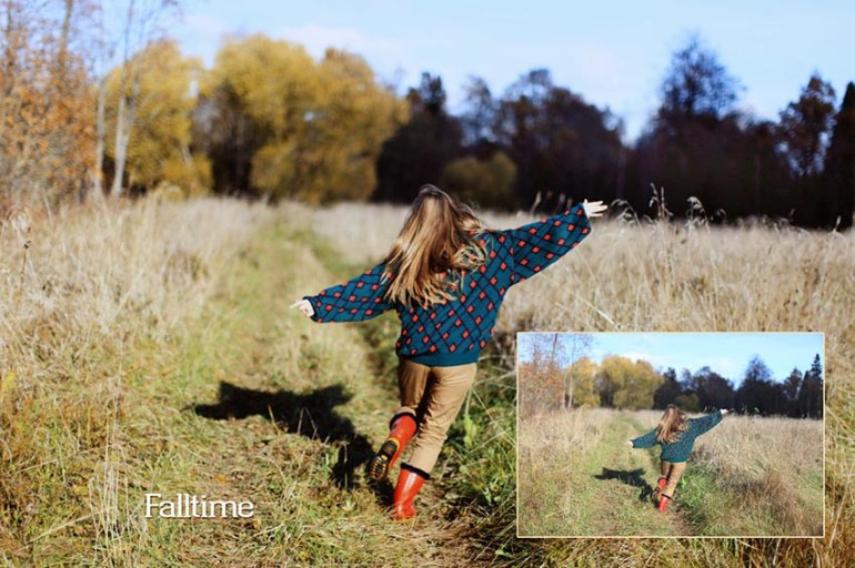 Falltime Photoshop Actions