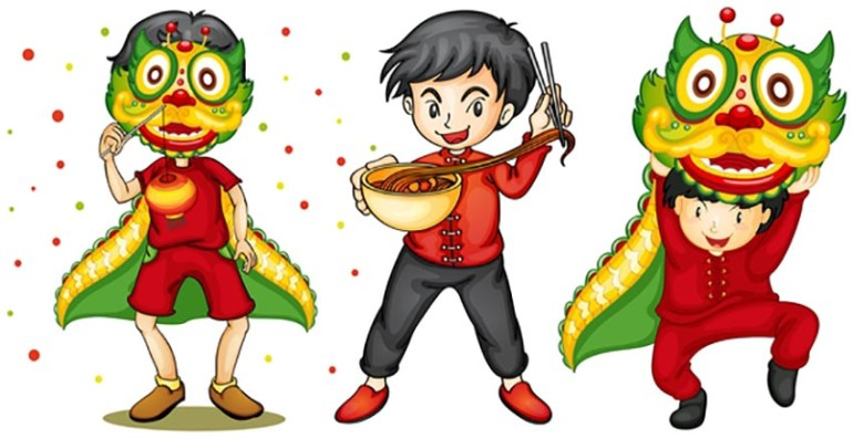 Chinese New Year Kids