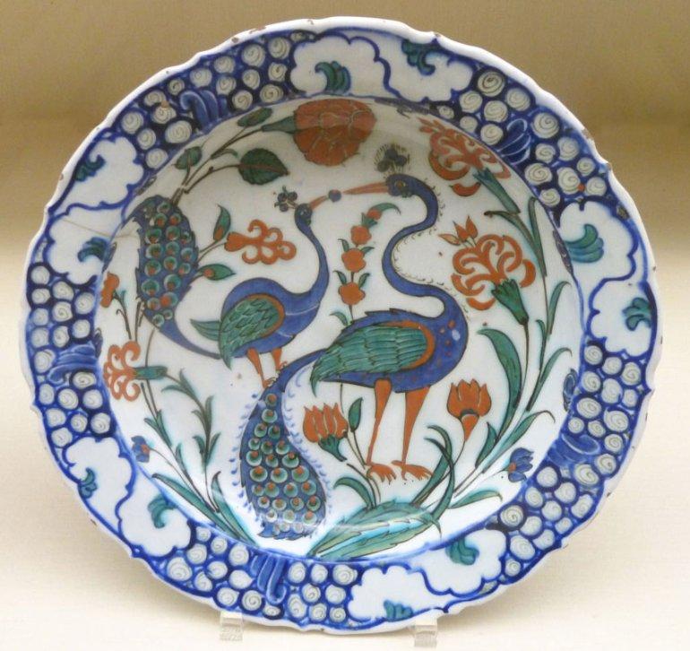 Islamic Art Ceramic Plate