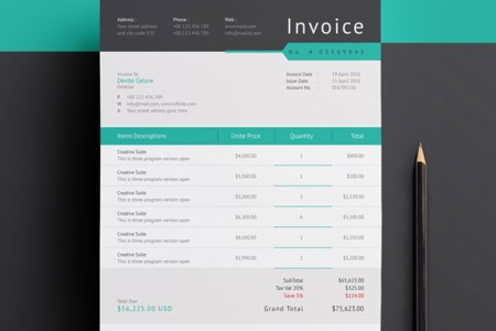 35 Invoice Templates for Corporations   Small Businesses Corporate Invoice Template Set