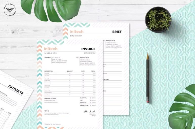 Estimation Invoice Templates