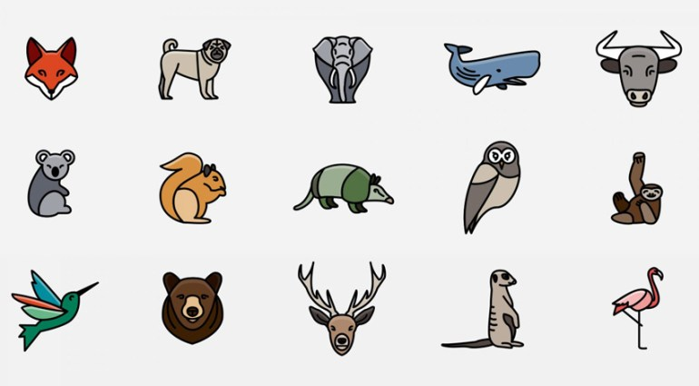 Animal Icons Logo Kit