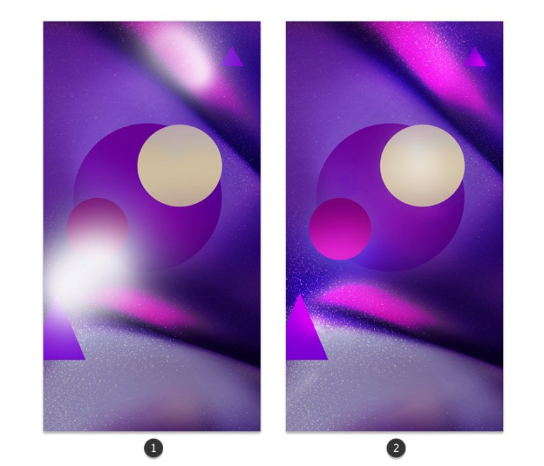 Paint light with overlay