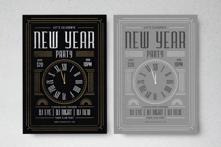 New Year Party Template