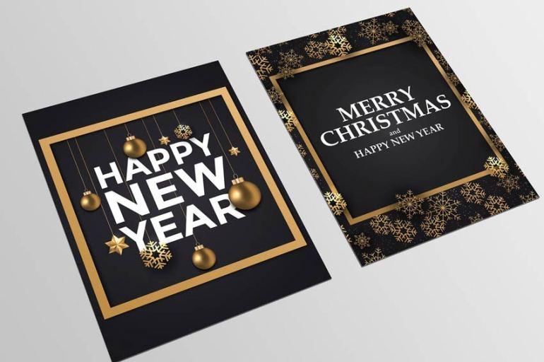 Holiday New Year Card