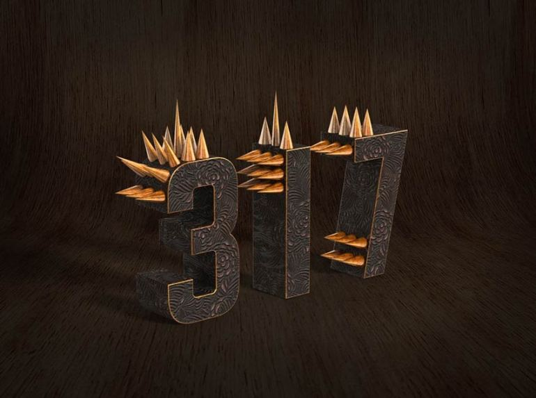 How to Create a Metallic 3D Spiky Text Effect in Adobe Photoshop