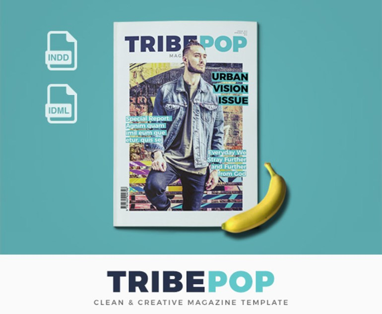 Tribepop Magazine Template