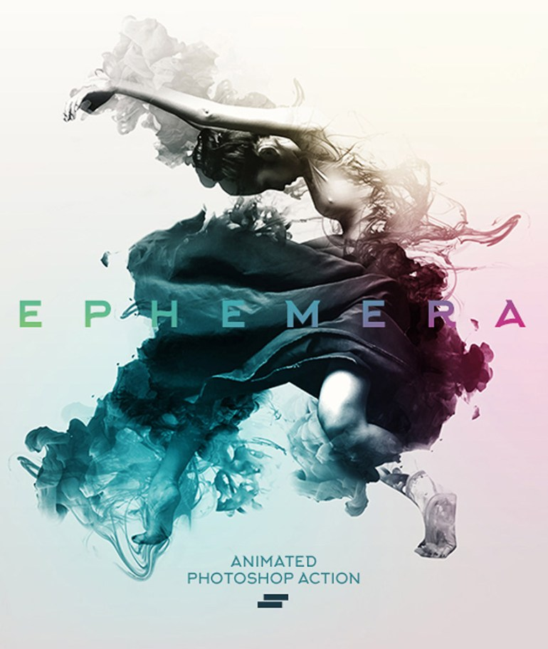 Gif Animated Ephemera Photoshop Action