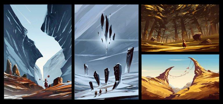 Speed Paintings by Boris Stoyanov