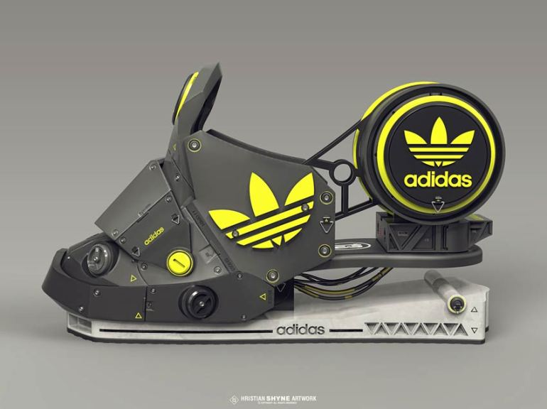 Adidas Concept by Hristian Ivanov