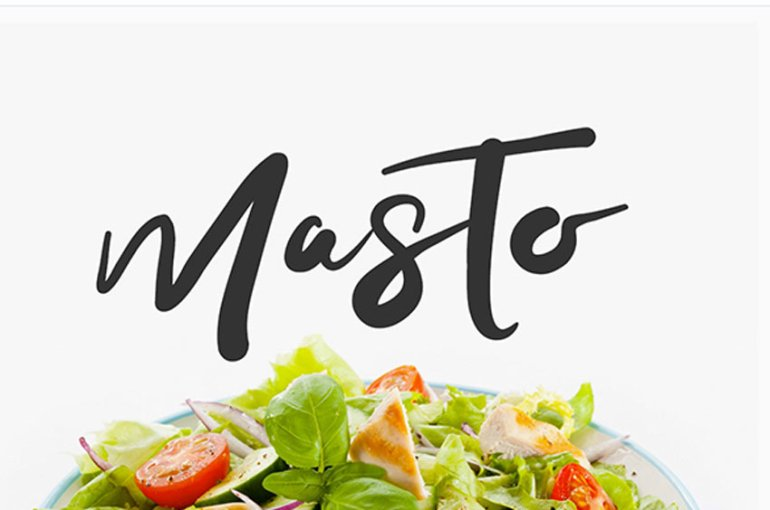 Masto Typeface