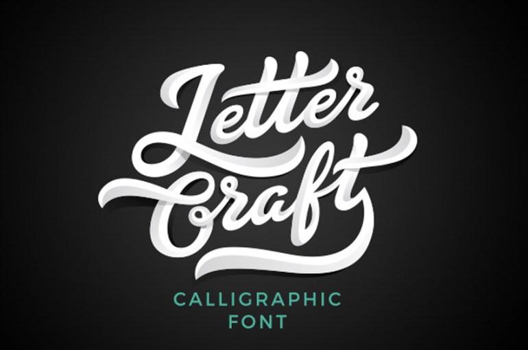 Letter Craft Font