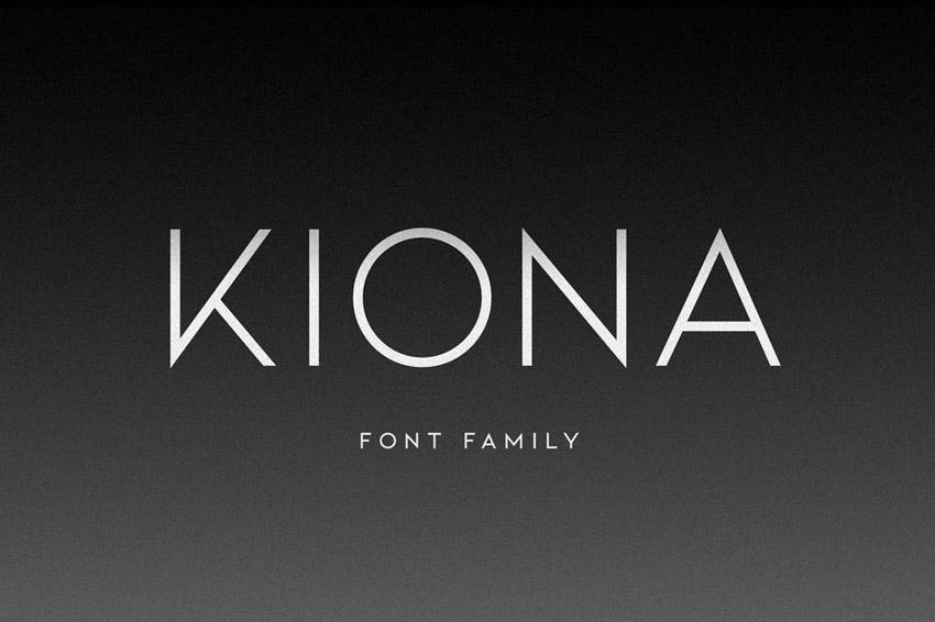 Kiona Font