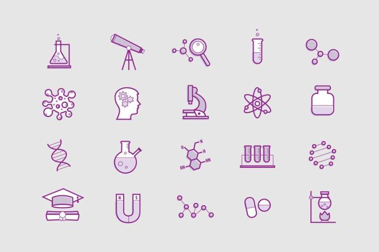Science Minimal Icons
