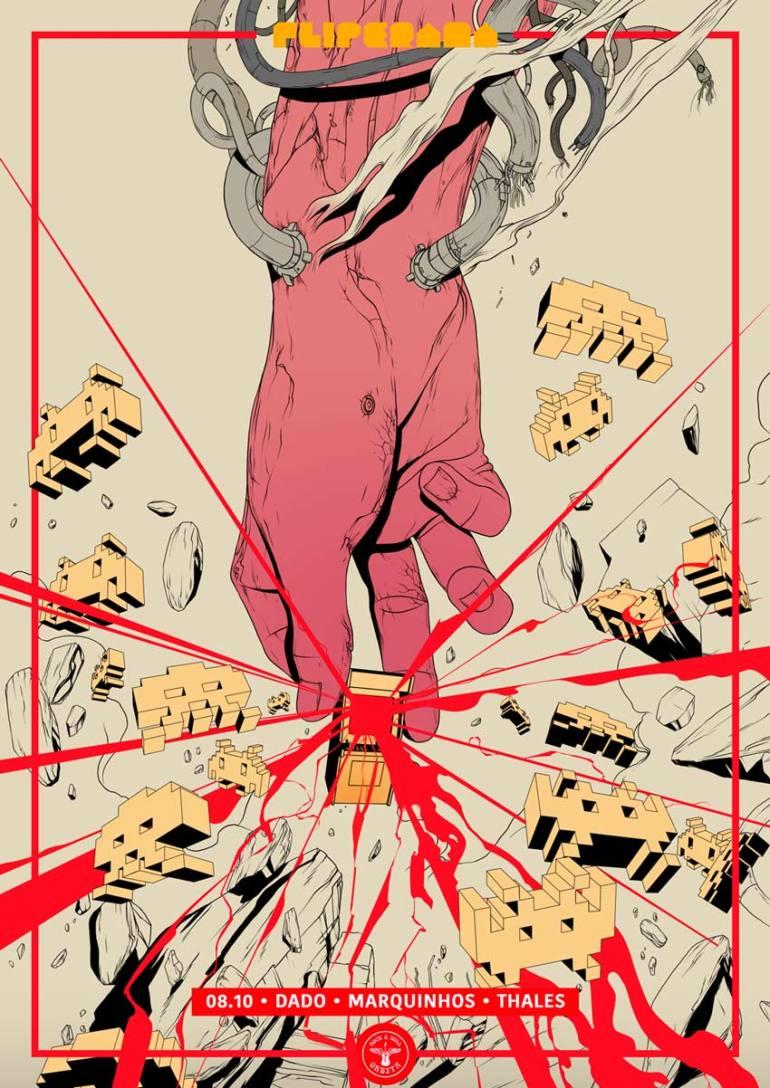 Fliperama Party Poster 2
