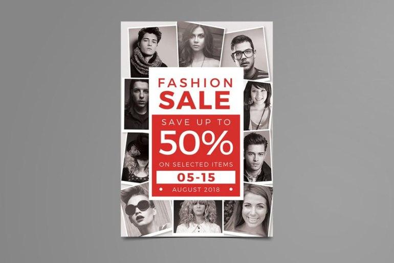 Fashion Sale Photo Collage Flyer