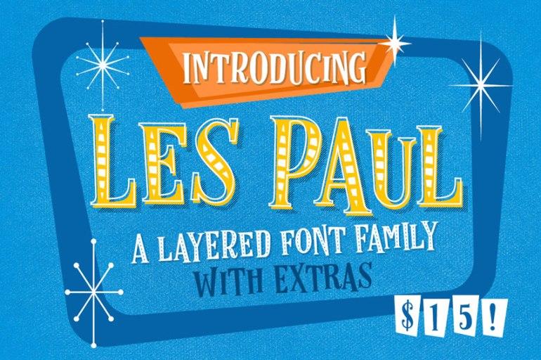 Les Paul Font